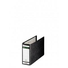 Ordner Leitz 180° karton A5 dwars 77mm zwart (432720)