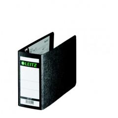 Ordner Leitz 180° karton A6 dwars 77mm zwart
