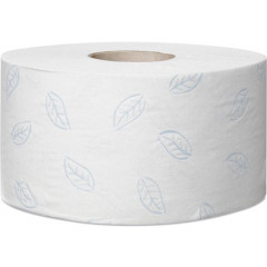 Toiletpapier Tork Soft Mini Jumbo T2 2-laags 850vel (12)