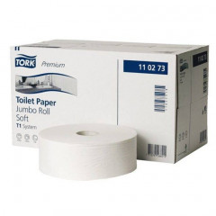 Toiletpapier Tork Soft Jumbo T1 2-laags 1800vel (6)