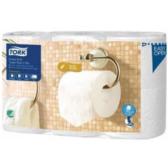 Toiletpapier Tork Premium Extra Soft T4 3-laags 170vel (6)