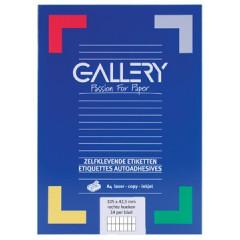 Etiketten Gallery 14 etik/bl 105x42mm (100)