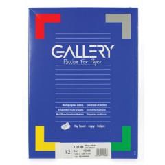 Etiketten Gallery 12 etik/bl 105x48mm (100)