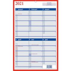 Kalender Aurora Memento 10 NL 2020