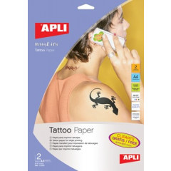 Tattoo transfer papier Apli A4 inkjet (2)