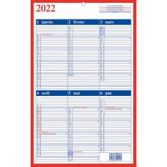 Kalender Aurora Memento 10 210x330mm FR 2022
