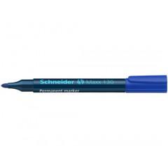Permanent marker Schneider Maxx 130 rond 1-3mm blauw (11303)
