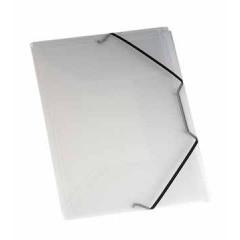 Elastomap 3 kleppen Viquel propyglass A4 PP transparant