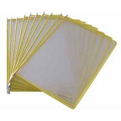 Tassen voor zichtpanelensysteem Tarifold T-display geel (10)
