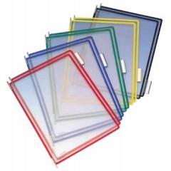Tassen voor zichtpanelensysteem Tarifold T-display assorti (10)