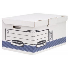 Archiefcontainer Fellowes Bankers Box System Flip Top Maxi 37,8x54,5x29,3cm blauw