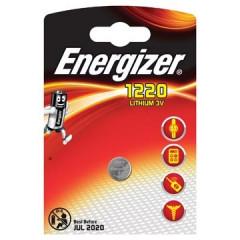 Knoopcelbatterij Energizer Lithium CR1220 3V