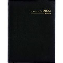 Agenda Brepols Ambassador Lima zwart 2020 1 dag/pagina