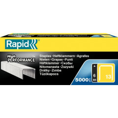 Nietjes Rapid High Performance No.13 6mm gegalvaniseerd (5000)