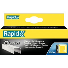 Nietjes Rapid High Performance No.13 6mm gegalvaniseerd (2500)(57614)