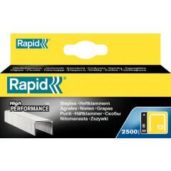 Nietjes Rapid 13/6mm gegalvaniseerd (2500) (57614)