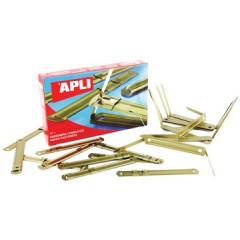 Archiefbinder Apli 80mm goud (50)