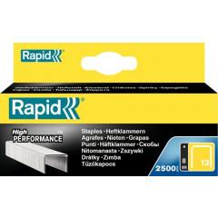 Nietjes Rapid 13/8mm gegalvaniseerd (2500) (57624)