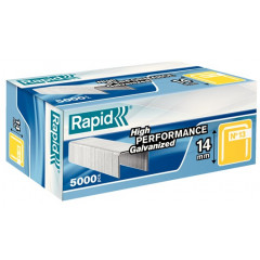 Nietjes Rapid High Performance No.13 14mm gegalvaniseerd (5000)