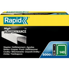 Nietjes Rapid High Performance No.140 8mm gegalvaniseerd (5000)