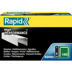 Nietjes Rapid 140/8mm gegalvaniseerd (5000)