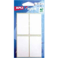 Etiketten Apli 30x55mm wit (28)