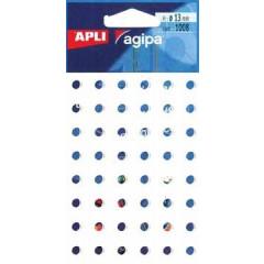 Versterkingsringen Apli agipa 13mm wit (1008)