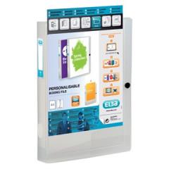 Elastobox Elba Polyvision PP A4 4cm transparant