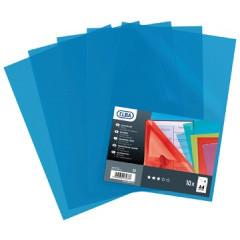 L-map Elba shine A4 PP 120µ glashelder blauw (10)