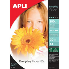 Fotopapier Apli everyday 10x15cm 180gr inkjet (20)