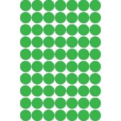 Etiketten Apli Ø 19mm groen (560)