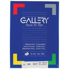 Etiketten Gallery 2 etik/bl 210x148,5mm (100)