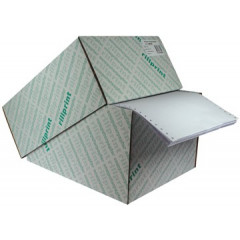 "Kettingpapier 12""x240mm 60gr blanco (2000)"