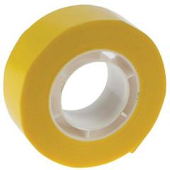 Plakband Apli PP 19mm x 33m geel voor kleine afroller
