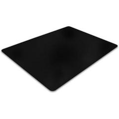 Vloermat Floortex PVC voor harde ondergronden 90x120cm zwart