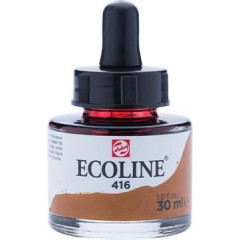 Waterverf Talens Ecoline 30ml sepia