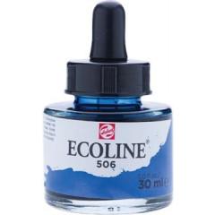 Waterverf Talens Ecoline 30ml donker ultramarijn