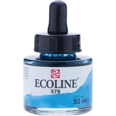 Waterverf Talens Ecoline 30ml hemelsblauw