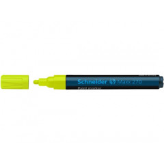 Paintmarker Schneider Maxx 270 rond 1-3mm geel