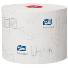 Toiletpapier Tork Mid-Size T6 2-laags (27)
