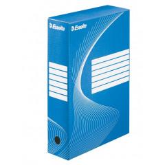 Archiefdoos Esselte boxycolor 24,5x35x8cm blauw (25)
