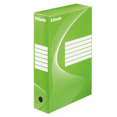 Archiefdoos Esselte boxycolor 24,5x35x8cm groen (25)