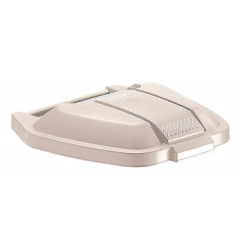 Deksel Rubbermaid voor vuilniscontainer Basis beige