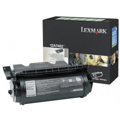 Lexmark laser T630/632 toner 12A7462 HC