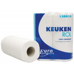 Keukenrol Europroducts 2-laags wit (2)