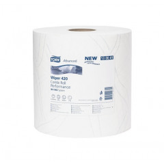 Poetsdoek Tork advanced 420 2-laags 235mm x 255m (2)