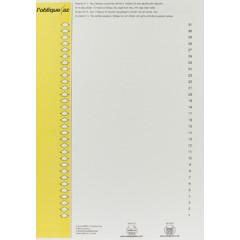 Ruiterstroken Elba hangmap kast nr.9 31st/bl 14cm geel