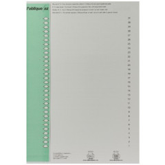 Ruiterstroken Elba hangmap kast nr.9 31st/bl 14cm groen