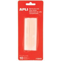 Lijmpatronen Apli voor lijmpistool transparant 7,5mm (10)