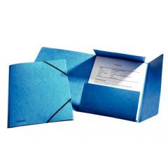 Elastomap Esselte Rainbow karton A4 blauw (25)